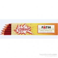 Fatih Kırmızı HB Kalem 12'Li